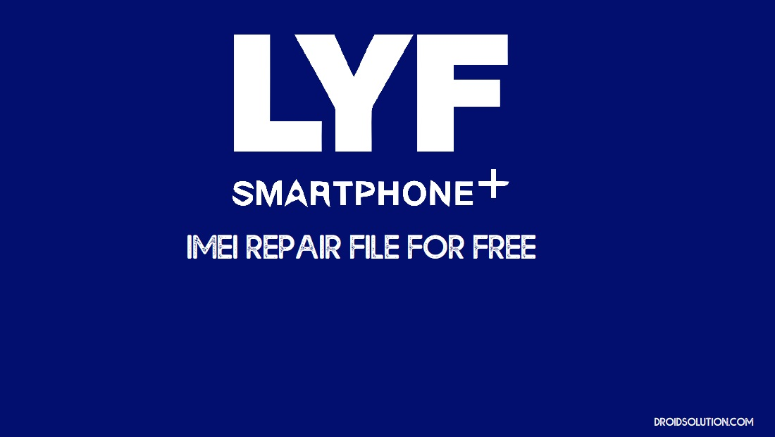 Jio F120B IMEI Repair File Download Free