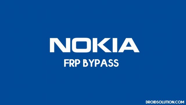 Nokia FRP Bypass (Unlock Google Account)