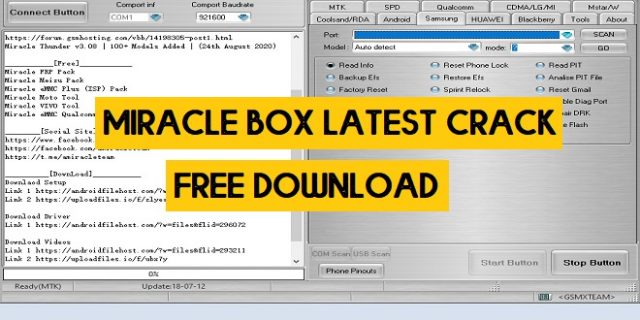 Miracle Box Crack 2.82 With Loader (100% working) Latest 2021