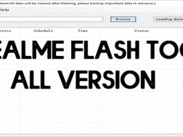Download Realme Flash Tool for Windows – All Versions